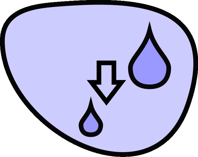 отблъскване на вода